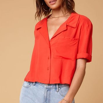 LA Hearts Button Down Shirt at PacSun.com