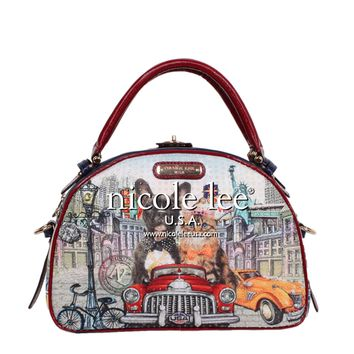 CITY DRIVE PRINT BOWLER BAG - NEW ARRIVALS