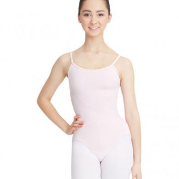 Adult Camisole Leotard with Adjustable Straps (Pink)
