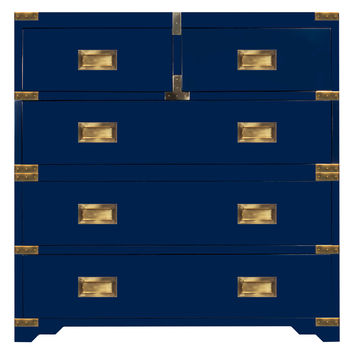 Sparrow Lake Lacquer Campaign Chest - Dark Blue/Navy