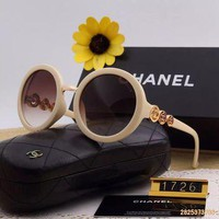 Original Chanel Fashion Non Polarized Women Sunglasses 1726 - 194