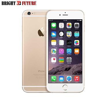 Unlocked Apple iPhone 6 Cellphones simfree 4.7 inch IOS 10 Dual Core phone 8 MP Camera 3G WCDMA 4G LTE Used 16/64/128GB ROM