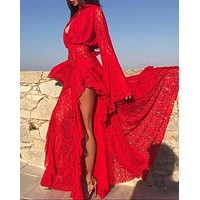 Red Lace Dress RL1