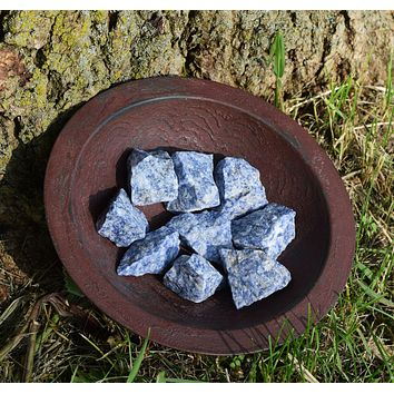 SODALITE Raw Crystal - Mental Clarity, Study Buddy, Meditation Stone