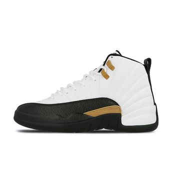 "NIKE Air Jordan 12 Retro CNY ""Chinese New Year"" Mens Basketball Shoes Stability Height Increasing Sneakers"