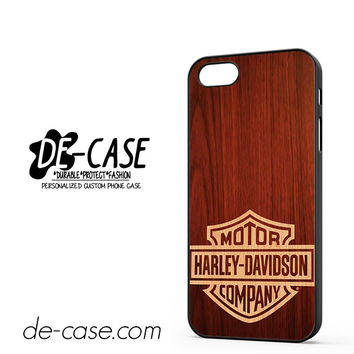 Harley Davidson Wood DEAL-5057 Apple Phonecase Cover For Iphone 5 / Iphone 5S