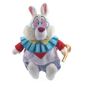 Alice in Wonderland Plush Toy White Rabbit Stuffed Animals 38CM Baby Girls Toys for Children Kids Gifts