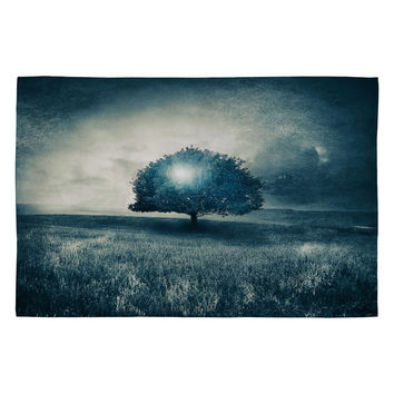 Viviana Gonzalez Energy From The Blue Tree Woven Rug