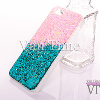 Glitter,  iPhone 6 case, iPhone 5s case  iphone 6 plus case  iPhone 5c case Galaxy S4 S5 Note 3, Phone case G006