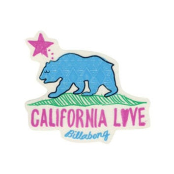 BILLABONG California Love Sticker 190122957 | stickers | Tillys.com