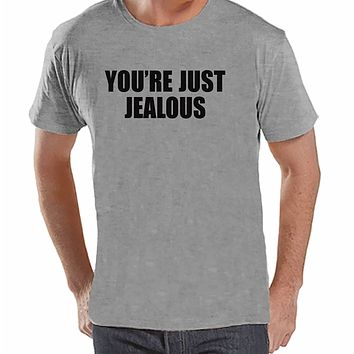 7 ate 9 Apparel Mens You're Just Jealous T-shirt