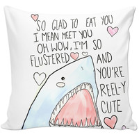 Cute sharky pillow