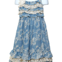 Isobella & Chloe Annabelle Toddler Dress
