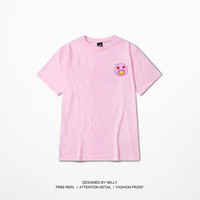 Odd Future Street Fashion T shirts Black White Pink Cotton Short Sleeve Top Tees Fashion Hip Top couple lover t shirt Size S 3XL-in T-Shirts from Men's Clothing & Accessories on Aliexpress.com | Alibaba Group