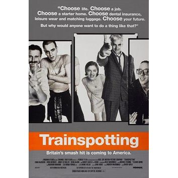Trainspotting Movie Poster 11 inch x 17 inch poster
