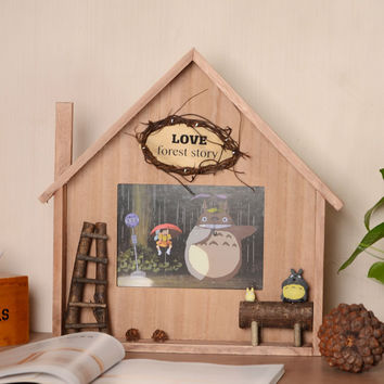 Creative Cats Wooden Gifts Photo Frame [6283031750]