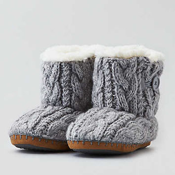 AEO Slipper Bootie , Gray