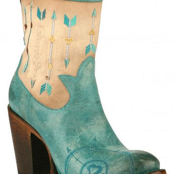 Junk Gypsy by Lane - Wanderlust Waxed turquoise - JG0011B
