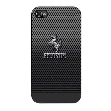 ferrari logo iPhone 4 4s 5 5s 5c 6 6s plus cases