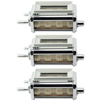 Felji KRAV Ravioli Maker and Cutter Attachment for KitchenAid Stand Mixers 3 Pack