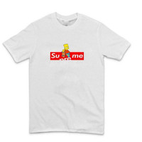 """Supreme"" WOMEN PRINT SHORT T-SHIRT TOP"