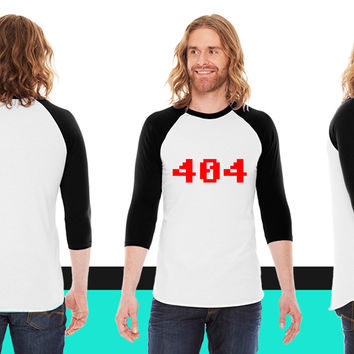 40 American Apparel Unisex 3/4 Sleeve T-Shirt