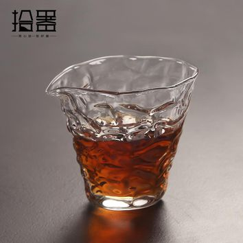 250ml New DIY Japanese Handmade Heat Resistant Glass Kung Fu Coffee Tea Set Drinkware Teacup Teapot Kettle Travel Portable Cup