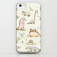 Dinosaurs iPhone & iPod Case by Sophie Corrigan