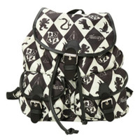Harry Potter Diamond Houses Slouch Backpack