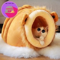 Dog house pet product supplies luxurious sleeping bag high quality fabric product cats and little dogs bed for winter
