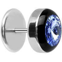Light Sapphire Blue Gem Cheater Plug