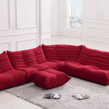 Mr. Bloom - Modern Fabric Sectional Sofa