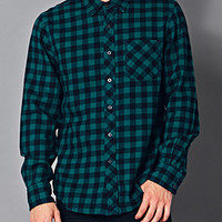 Classic Fit Buffalo Check Flannel