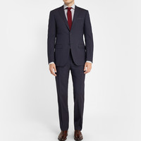 Canali - Navy Wool Travel Suit | MR PORTER