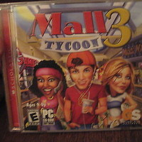Mall Tycoon 3(PC CD-ROM) BRAND NEW AND FACTORY SEALED!!!