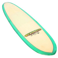 Rare Transitional Greg Noll, Johnny Fain Formula 2 Surfboard
