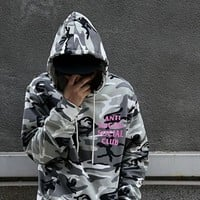 Hats Winter Men's Fashion Hip-hop Camouflage Couple Hoodies [46977613836]