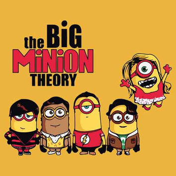 Big Bang Minion Adult Tee Shirt