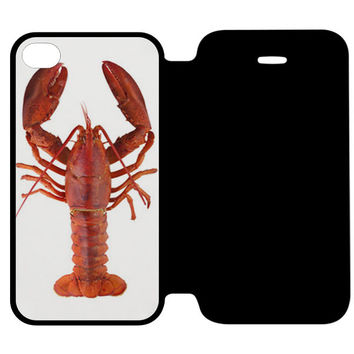 LOBSTER iPhone 4 Flip Case Wijayanty.com