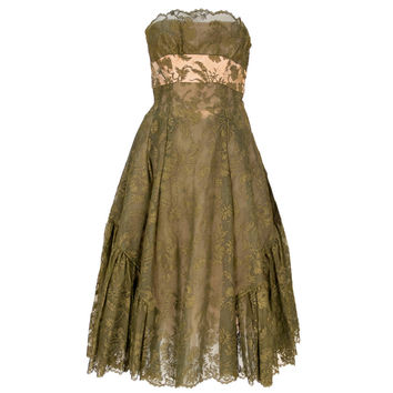 Lanvin Lace Dress, 1950s
