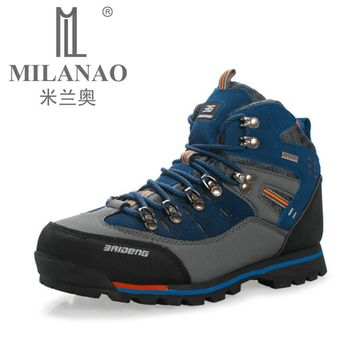 Genuine Leather Outdoor Boots