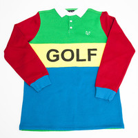 GOLF RUGBY SHIRT KELLY GREEN – golfwang