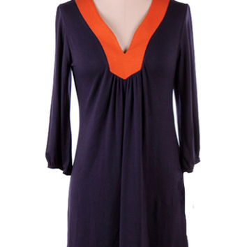 Orange Gameday Dress