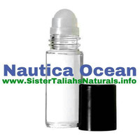 Nautica Ocean all natural fragrance cologne for men teens fresh light summer spring great smell free perfect gift shipping non irritating