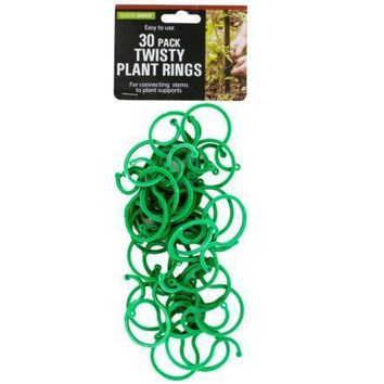 Lock Together Twisty Plant Rings 30 Pieces Set of 24 Pack