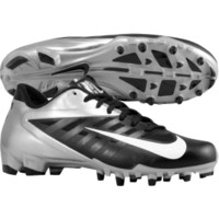 Nike Men's Vapor Pro Low TD Football Cleat - White/Black | DICK'S Sporting Goods