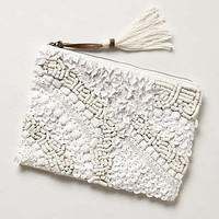 Anthropologie - Shell Beach Pouch