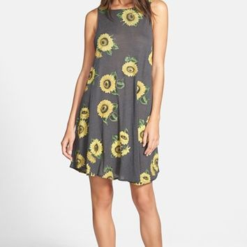 Women's Wildfox 'Contempo Sunflower' Sleeveless Dress,