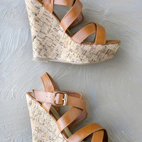 Jovanna Cork Wedge