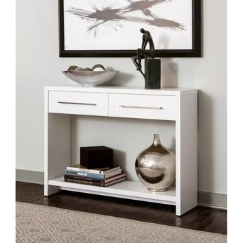 ClosetMaid Modular Console Table | Overstock.com Shopping - The Best Deals on Coffee, Sofa & End Tables